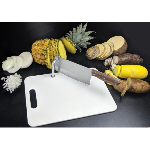 Clever Cleaver Cutting Board